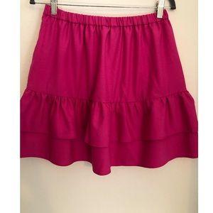 Jcrew pink skirt